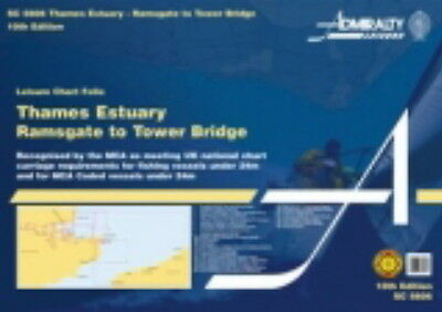 ADMIRALTY SC FOLIO 5606 THAMES ESTUARY, RAMSGATE to TOWER BR. - 2014 Edn - NEW