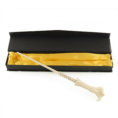 Deluxe Harry Potter COS Lord Voldemort's Wizard Magical Magic Wand IN Box