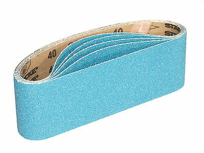 75 X 533mm Sanding Belts Zirconia Grit 40 / 60 / 80 / 120  High Quality Belt