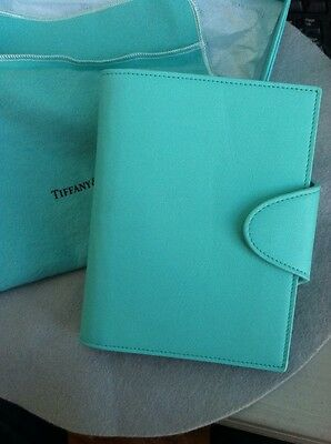 Tiffany & Co  Leather Notebook Great Gift!