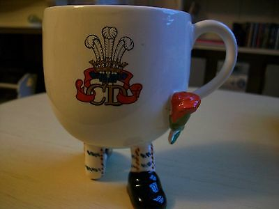 WALKING CUP CARLTON WARE  COMMEMORATE MARRIAGE LADY DIANA HRH  PRINCE OF WALES