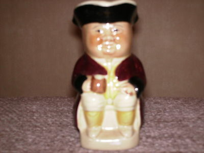 Genuine Tony wood ceramic Toby jug pitcher