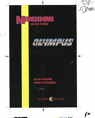 MIRACLEMAN OLYMPUS HC Issues 11-16 1-of A KIND GRAIL ECLIPSE BLUELINES w/CREDITS