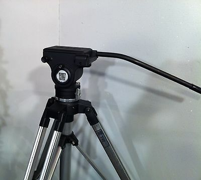ITE 40 tripod and head with plate and handle - nice commercial qty. one tripod