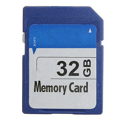 32GB 32G SD SDHC Secure Digital High Speed Storage Memory Card for Camera GPS
