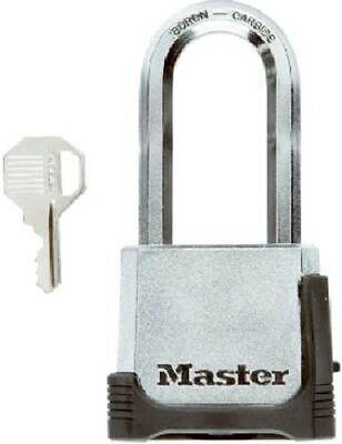 "Master Lock Magnum, 2"", Resettable Combination Padlock With Key, 2"" Shackle"