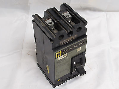 Square D Fal24015 Molded Case Circuit Breaker 15A 240V ***xlnt***