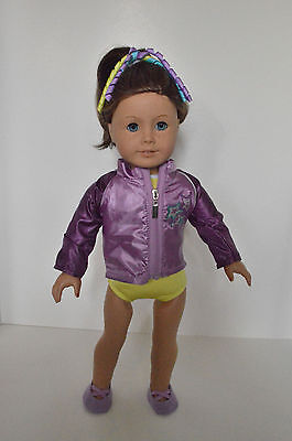 Leotard and Jacket set for McKenna American Girl