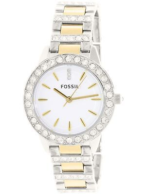 Fossil Women's Jesse ES2409 Silver Stainless-Steel Quartz Watch