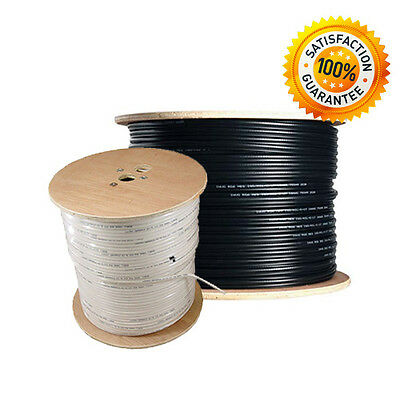 Rg6 Single Coaxial Hd Cable 10-15-20-25-30-40-50-75-100-125-150-175-200M