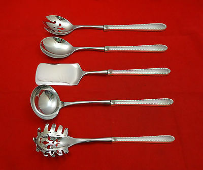 Winslow by Kirk Sterling Silver Hostess Set 5pc HHWS  Custom Made
