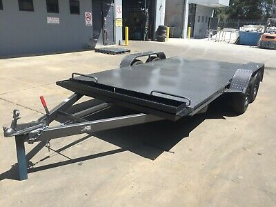 Brand New Car Tandem Axle Trailer 14Ft  Beaver Rear  Quality Australian Made