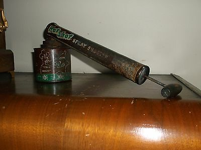 Vintage Sheriff Hot Shot Spray Shooter, Great Collectible Display Item,