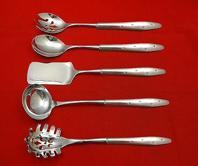 Dawn Star by Wallace Sterling Silver Hostess Set 5pc HHWS  Custom Made