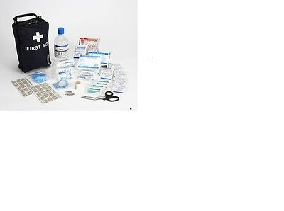 Motorist first aid kit compliant with BS8599-2:2014 in Bag
