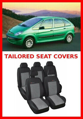 Tailored seat covers for Citroen Xsara Picasso  FULL  SET- 5 seater grey3