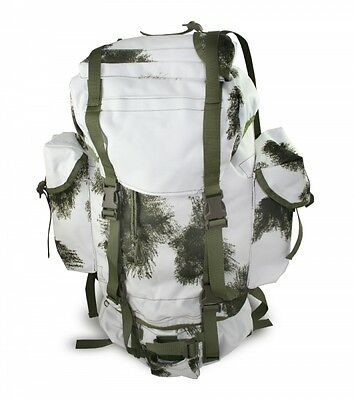 German Snow Camouflage Backpack
