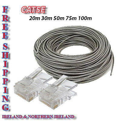 Cat5E Indoor Network  Lan Cable 20M 30M 50M 75M 100M 125M 150M 200M 250M 305M