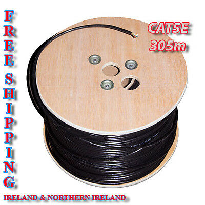 Cat5E Outdoor Network  Lan Cable 20M 30M 50M 75M 100M 125M 150M 200M 250M 305M
