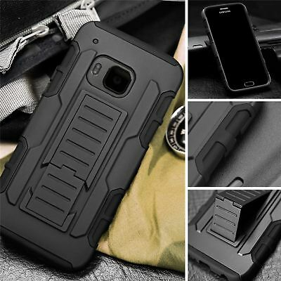 Protective Heavy Duty Future Armor Cover Case For HTC ONE M7 M8 M8 M9 M10