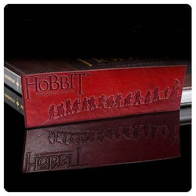 WETA The HOBBIT Films Official Licensed THORIN's DWARF COMPANY Leather Bookmark