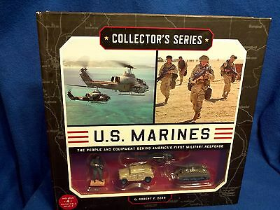 Marines Collector's Series includes Pictorial Book and Collectible Models
