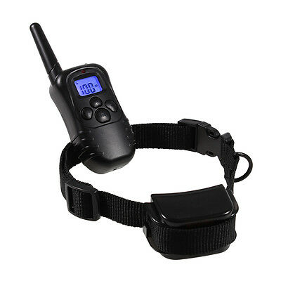 New LCD Waterproof Electric Shock Dog Training Remote Control E-Collar Anti Bark