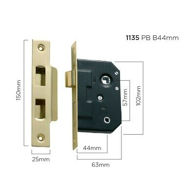 Privacy Mortice Lock-Suits Door Lever Sets On Backplates In Our Range-6 Finishes