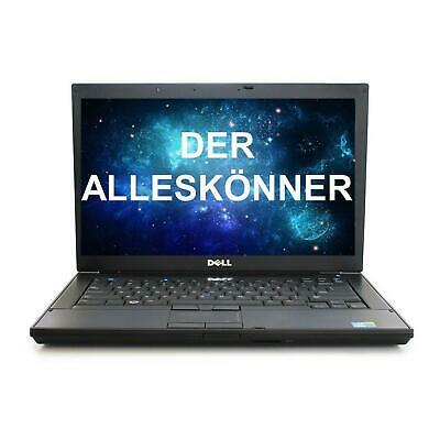 Dell Latitude E6410 14 Zoll i5 4GB RAM 320GB HDD Windows 7 DVD-RW NEU Akku