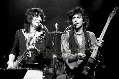 Keith Richards Ronnie Wood New Barbarians Photo 8x12 or 8x10 inch '79 Concert 1