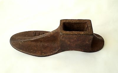 Antique Heavy Cast Iron Cobbler/Shoemaker's Tool Shoe Mold/Form, 1 2/2 kg