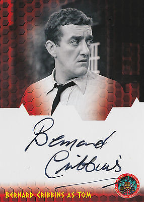 Dr Doctor Who And The Daleks AD 2150 Bernard Cribbins Autograph Card DWBC