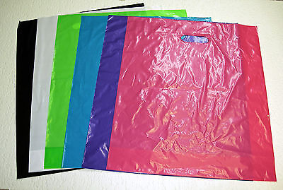 REGULAR GLOSSY Low-Density Plastic Merchandise Bags U Pick Qty., Color & Size