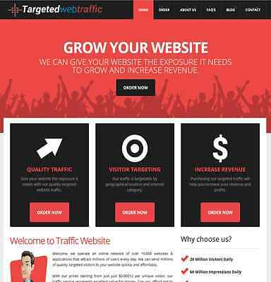 Traffic Reseller Turnkey Business High Profit Fully Automated. FREE INSTALLATION
