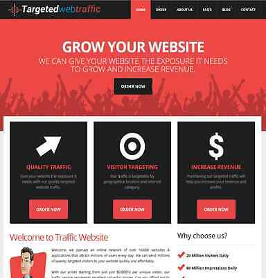 Traffic Reseller Turnkey Business website High Profit Fully Outsourced.