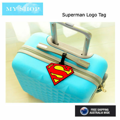 Spiderman Superman Name Tag, Id Lable For Luggage, Suitcase, School Bag, Travel