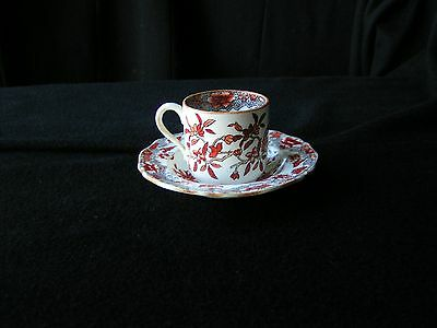Copeland Antique China 1109 / S 79 Demitasse Cup and Saucer