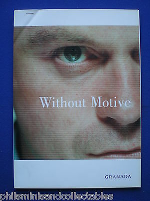 Without Motive  TV Series - UK. Promotional Press Kit 2001