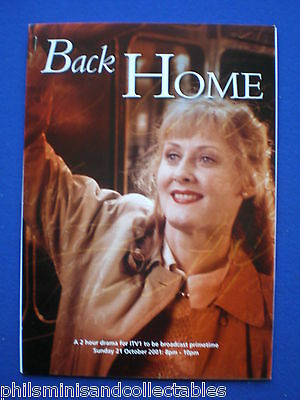 Sarah Lancashire  ' Back Home ' TV Drama - UK. Promotional Press Kit 2001