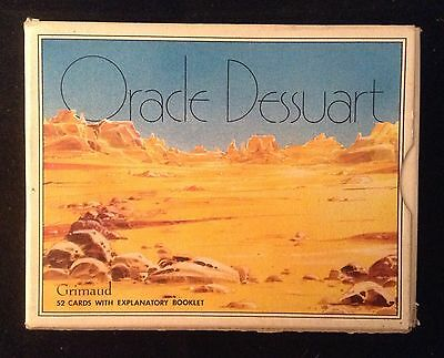 ORACLE DESSUART 52 Cards Made In France 1986 Grimaud MAGIC