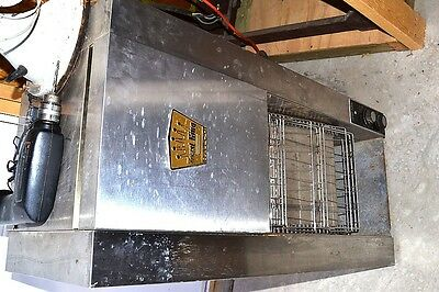 HATCO TOAST KING TK-4P COMMERCIAL RESTAURANT CONVEYOR TOASTER TESTED 208 volts