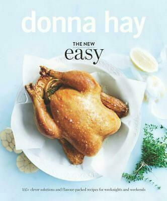 The New Easy by Donna Hay (English) Hardcover Book Free Shipping!