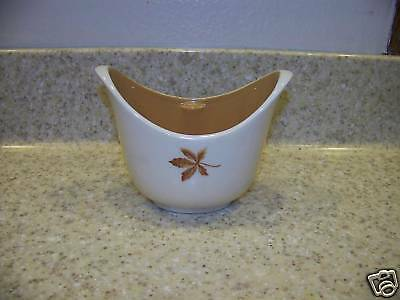 Taylor Smith & Smith Random Leaves Sauce Boat  Brown