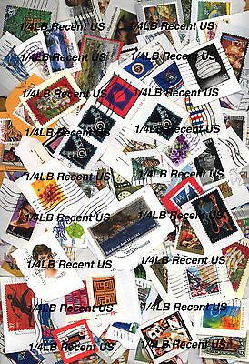BUY IT NOW!!! 1/4 Pound Recent Lot of US Stamps on Paper . USA Current Kiloware