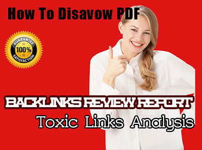 How to Disavow Report in PDF