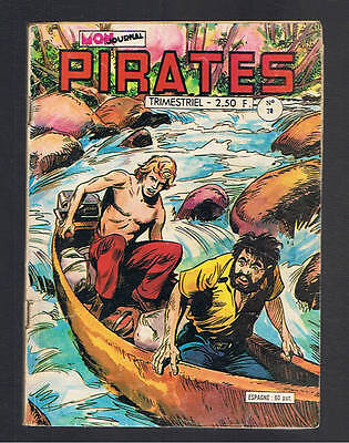 PIRATES  N°70  mon journal 1978