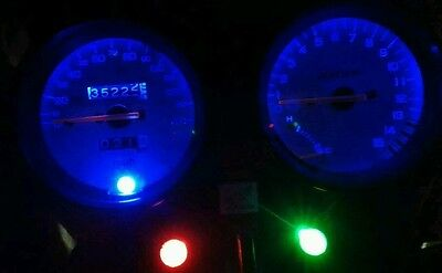 led clock upgrade kit lightenUPgrade BLUE Hornet 600 cb600f 98-02