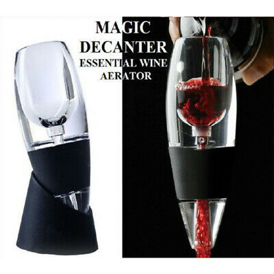 New Magic Decanter Essential RED Wine Aerator and Sediment Filter with Gift Box