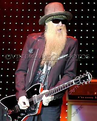 Billy Gibbons ZZ TOP Photo 8x10 inch '07 Live Concert Island Casino Harris MI 16