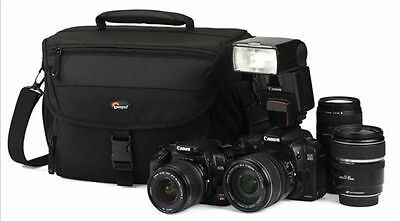 Lowepro Nova 190 AW DSLR Camera Photo Carry Shoulder Bag With All Weather Cover
